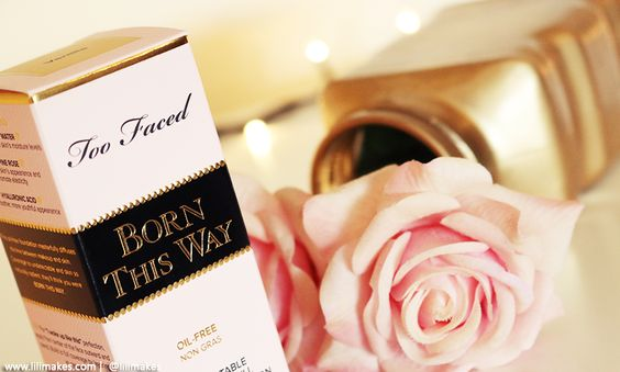 TOO FACED | BORN THIS WAY FOUNDATION - Lilimakes Blog #toofaced