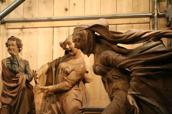 Complianto by Nicolo Del'Arca (1463) Bologna, Italy: