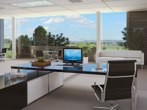 Executive Office Interior 32 Astounding Office Decorating Ideas Work Space