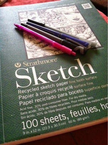 A Peek into My Sketchbook #strathmore #art #drawing #doodles #sketchbook