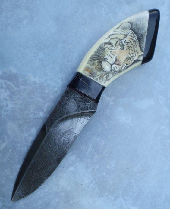 Little simple Srimshawed knife