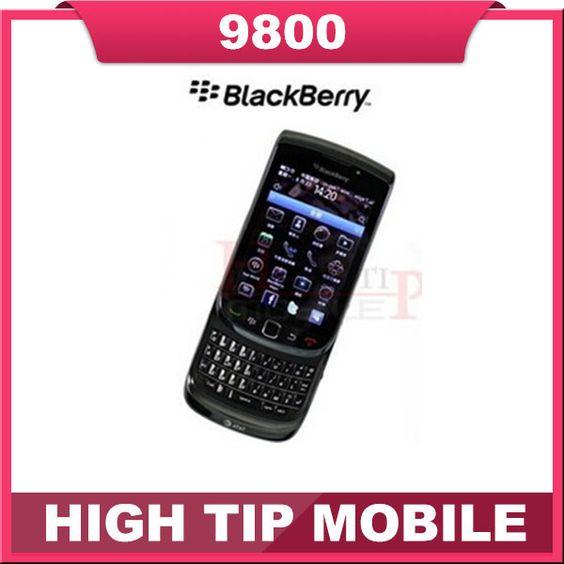 Cheapest Original 9800 Unlocked Blackberry Torch 9800 GPS WIFI 3G Mobile Phone Refurbished