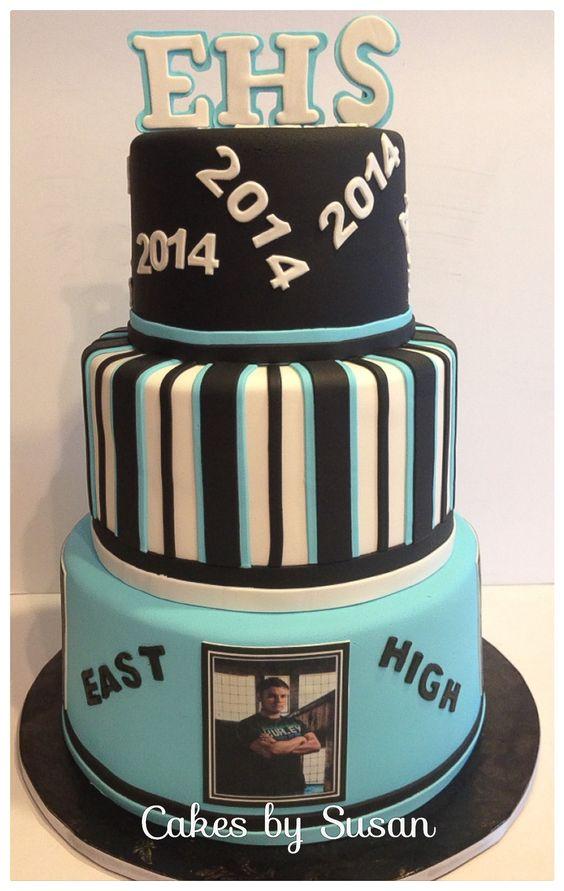 High School Graduation Cake Graduation Pinterest