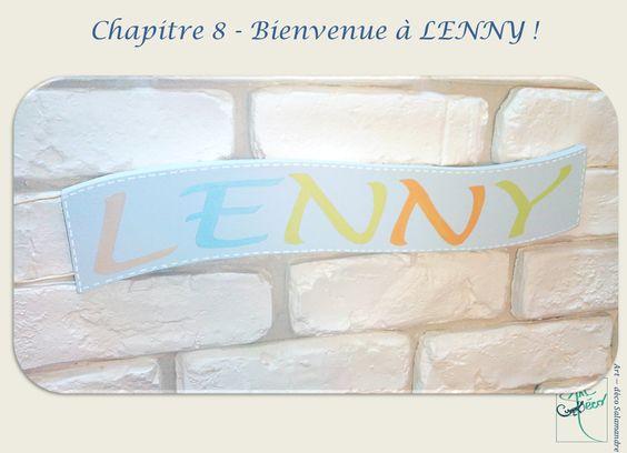 Création personnalisée by Art-déco Salamandre  #decorchambreenfant #banderole #bois #decorprairiedelenny
