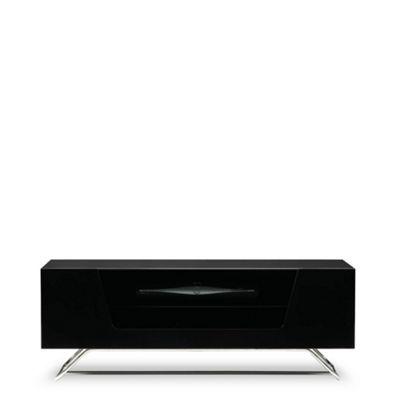 Alphason Black 'Chromium' TV unit- at Debenhams.com