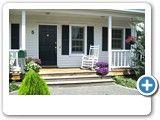 THE WHITE HOUSE american dream homes design [Amerikanische Häuser in Deutschland] GREEN RIVER HS Porch & Rocking Chair