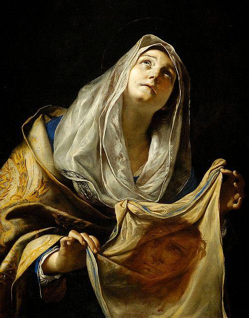 Mattia Preti, Saint Veronica With The Veil