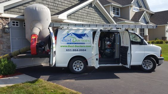 Equipment used for duct cleaning of your home.