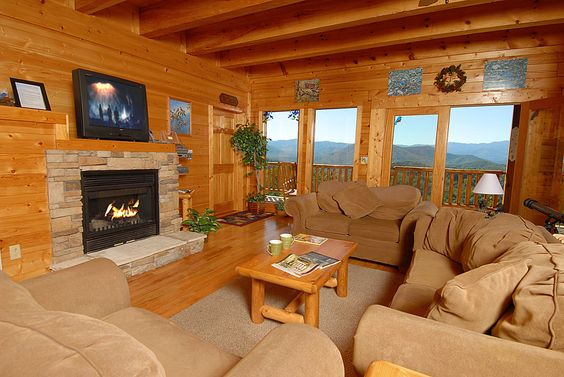 Bluebirds Over The Valley Is A Beautiful 3 Story 8 Bedroom 7 Bath Cabin With Over 5 100 Sq