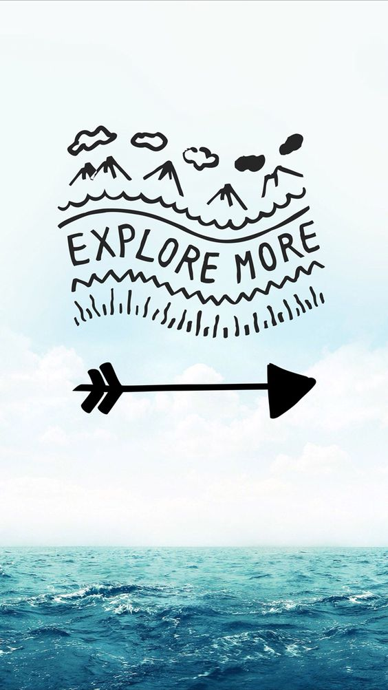 Pinterest // taym777 E... Adventure Quotes Wallpaper