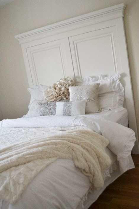 beautiful tall headboard fit for a queen ana white