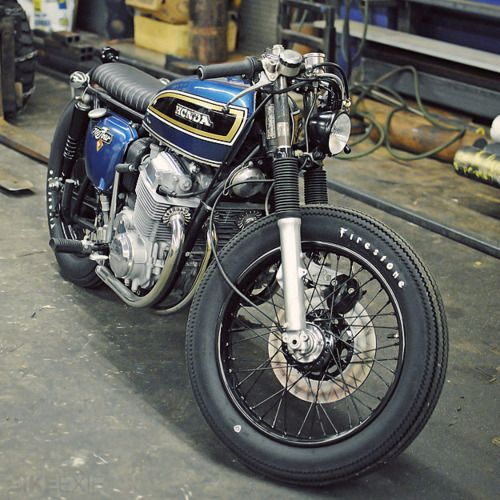 wheelike:    Honda CB750 custom