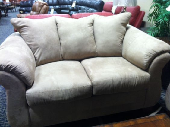 Neutral Comfy Loveseat Under 300 Liquidation Guys Home Pinterest Loveseats And Guys