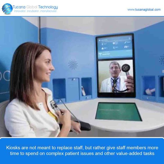 #Kiosks are not meant to replace #staff, but rather give #staff #members more time to spend on #complex #patient issues and other #value-added #tasks. #TucanaGlobalTechnology #Manufacturer #HongKong