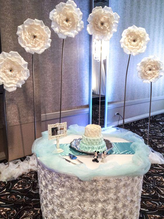Frozen Theme Wedding Cake Table Lachefs Lachefsdecor Decor Catering Lachefscateringampevents