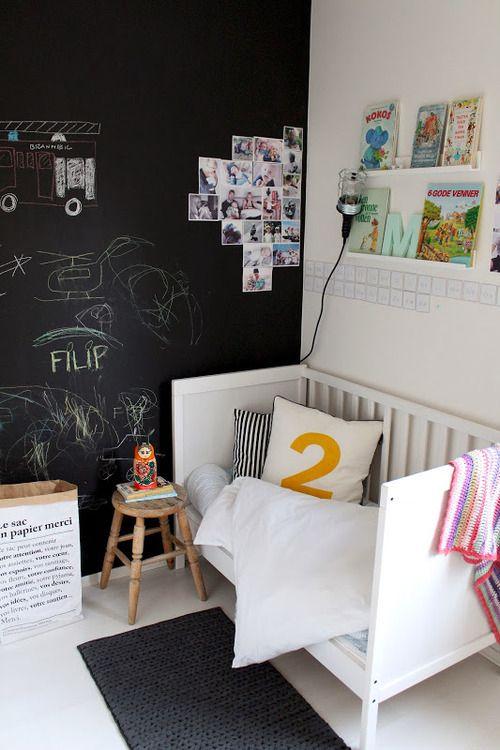 kids room - la cuna se puede convertir en sofa...: