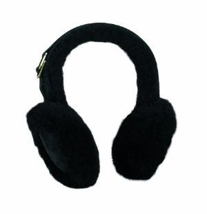 Turtle Fur Vermont Collection - Shearling and Leather Earmuffs, Black by TurtleFur. $39.99. Size: ADULT also fits Juniors and Teens. Genuine leather Real shearling. Genuine Leather And Shearling. Dry Clean Only. Adjustable fit. The unbeatable warmth of genuine leather and shearling embrace your head in stylish delight.. Save 13%!