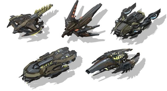Various enemy concepts.