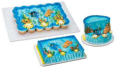 Nemo Cake Decorating Kit : finding nemo sheet cake Finding Nemo Dory Squirter ...