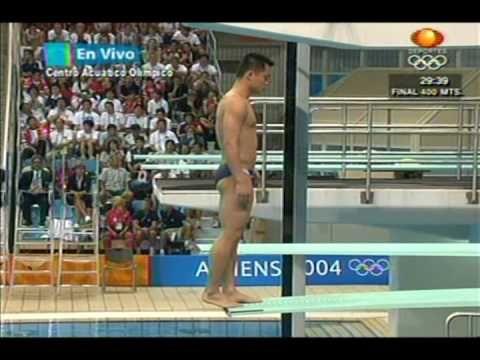 saltos ornamentais en las olimpiadas del 2004