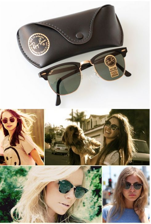 Ray Ban Brown Or Green Lenses
