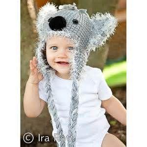 Bonnet Koala bébé enfant bonnet rigolo , idéal pour les scéances .