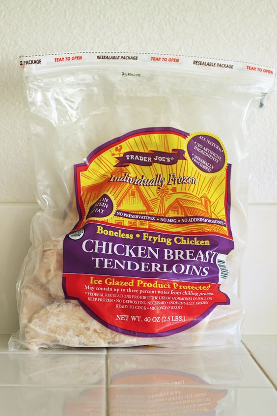 Frozen chicken tenders and why you should buy them good cheap eats