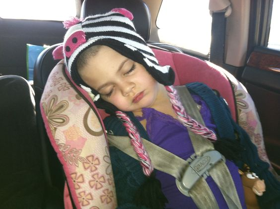 """Sleeping on the way home from treatment. She's getting better about treatment every time she goes. She understands how important it is to """"kill the germs"""". She has a mediport/central line, she calls it her """"tubies"""", and we put numbing or """"magic"""" cream on it about an hour or so  before we go, so it doesn't hurt. She even says it doesn't hurt. She has to get labs drawn every week, which we thought the mediport would be used for, but nope, she has to get poked in her arm for that. They said…"""
