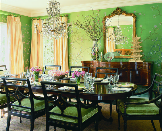 Mary Mcdonald Interior Designer Dining Rooms