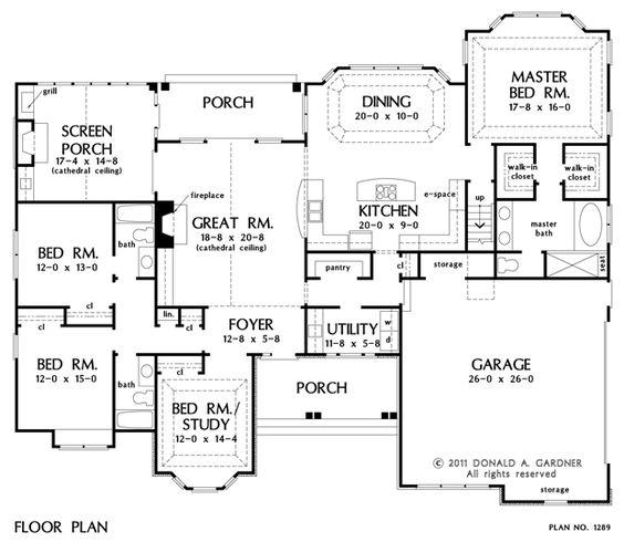 house plan with no dining room | house plans