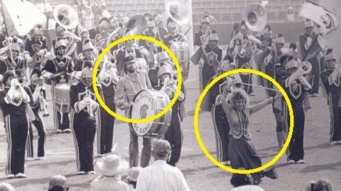 Oct. 4: Today in 1980, Fleetwood Mac joined the USC marching band at halftime of a football game to give them a platinum album for �Tusk�