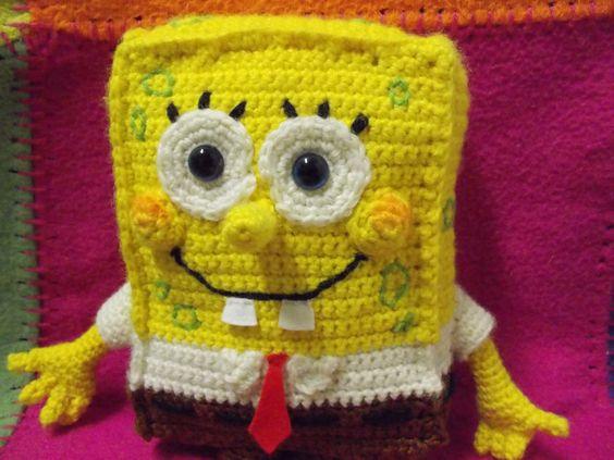spongebob squarepants crochet pattern Crochet Obsessed Spongebob Squarepant...