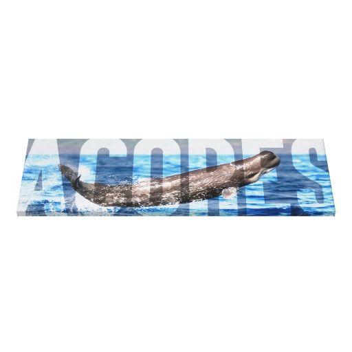 92cm x 30cm x 3,8cm Canvas / Tela Açores Impressão Em Tela