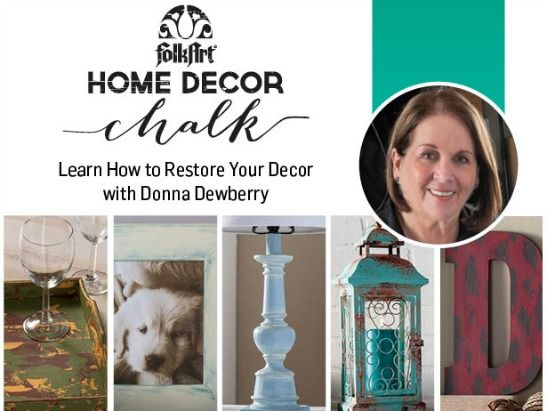 How To Paint Furniture With Donna Dewberry