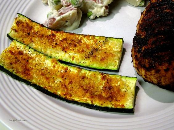 Broiled Zucchini.  I really like zucchini, and need new ways to prepare it.