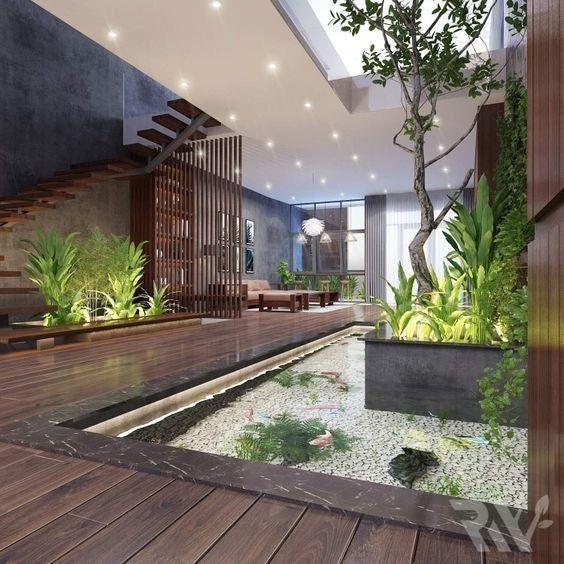 Reddit Cozyplaces Cozy Garden Home Courtyard Design Dream House Exterior Modern House Design
