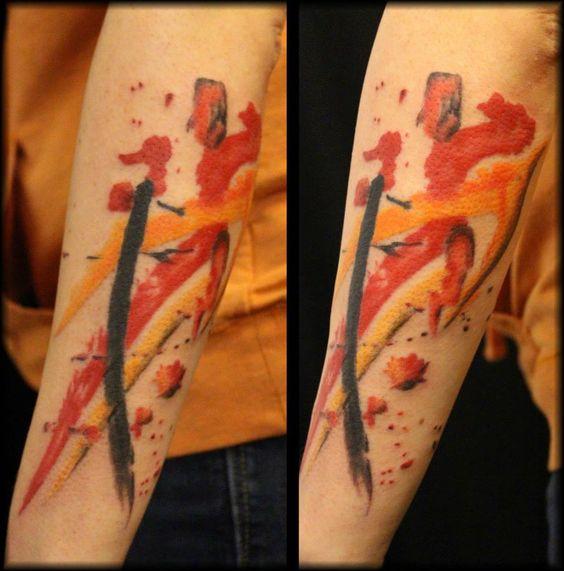 Laura Exley - Watercolor tattoo | Body Art | Pinterest ...