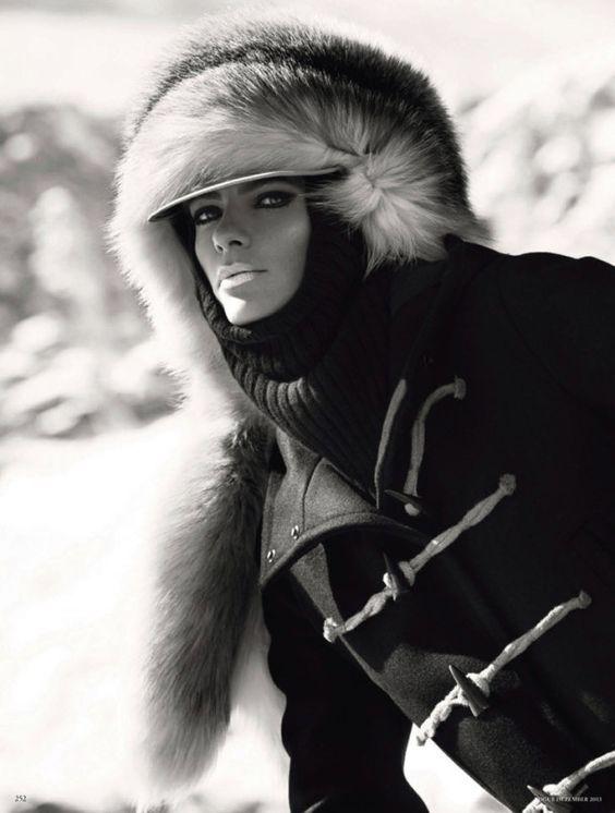 Julia Stegner para Vogue Alemania por Giampaolo Sgura
