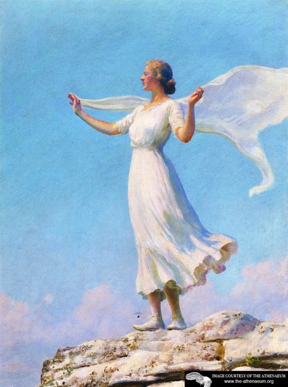 The South Wind (also known as The Breezy Day) Charles Courtney Curran: