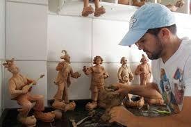 Resultado de imagem para mamulengos escultura em madeira