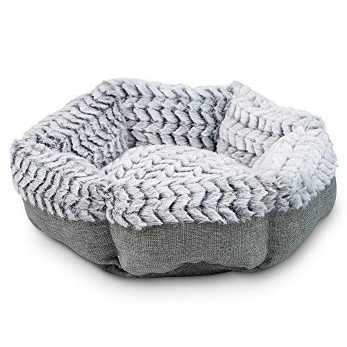 Pet Craft Supply Co Soho Round Machine Washable Memory Foam Comfortable Ultra Soft All Season Self Warming Cat Dog Bed Memory Foam Pet Bed Dog Beds Homemade
