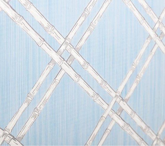 Bamboo Lattice Peel Stick Wallpaper Pottery Barn Kids Bamboo Trellis Peel And Stick Wallpaper Lattice