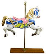 carousel horses - party props