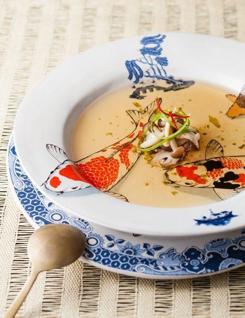 soup bowl: