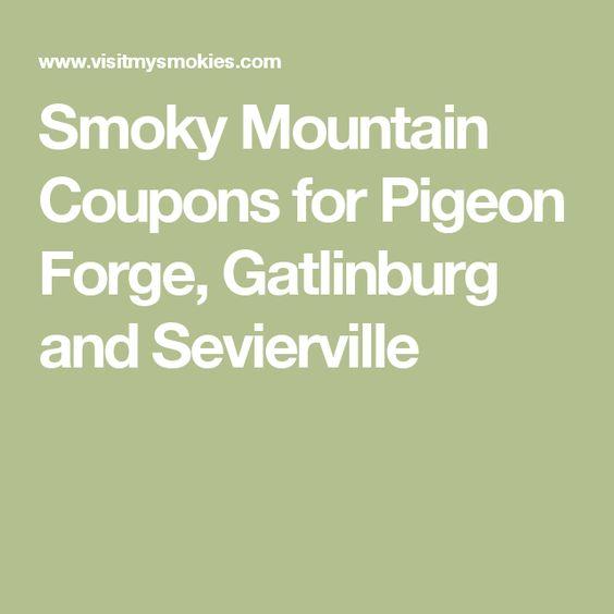 Smoky mountains coupons discounts