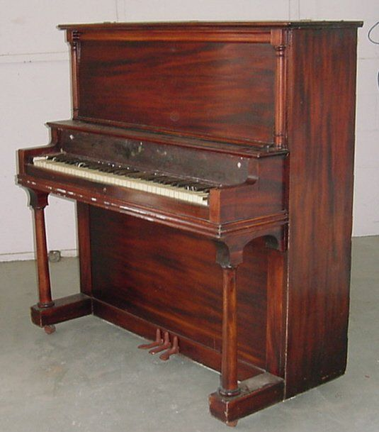 Pinterest the world s catalog of ideas for Small upright piano dimensions