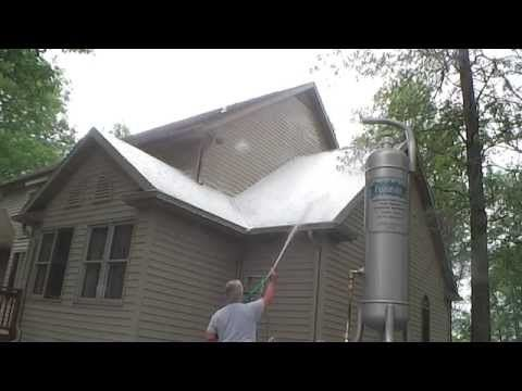 Copper Sulfate Roof Cleaning In 2020 Roof Cleaning How To Clean Copper Copper Roof