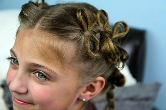 The Bow Braid | Cute Girls Hairstyles