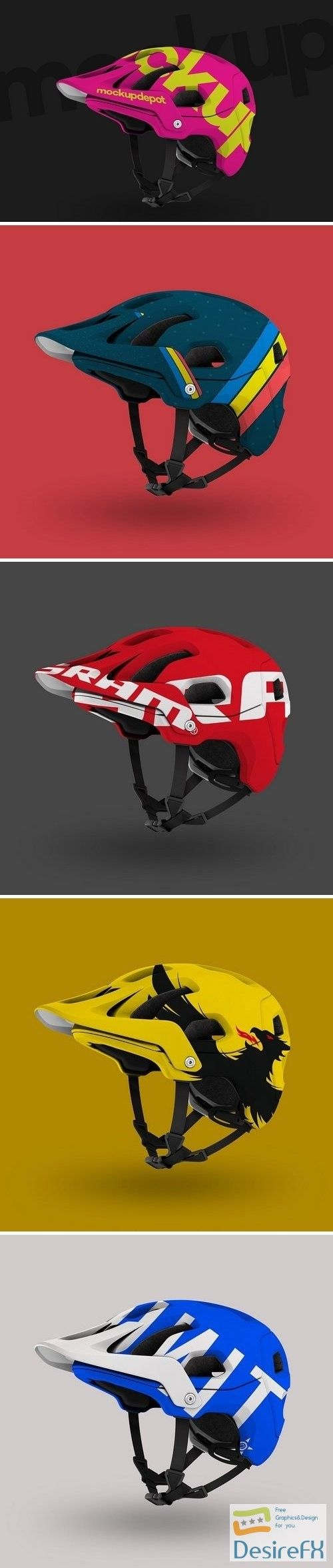 Download Download 4k Mountain Bike Helmet Psd Mockup 1541901 Desirefx Com Mountain Bike Helmets Bike Helmet Mockup Psd