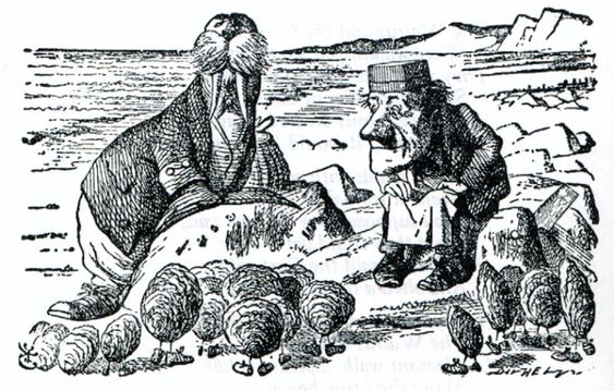The Walrus and the Carpenter. Lewis Carroll.